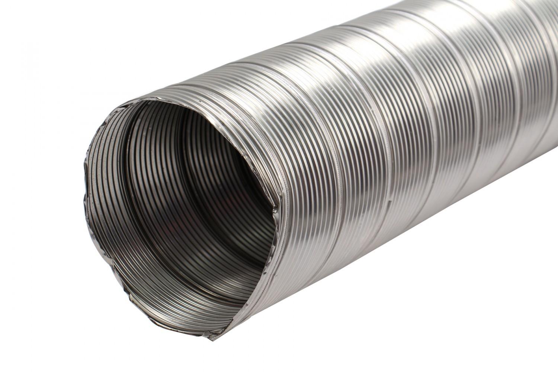 TUB INOX FLEXIBIL 180 mm - 2m