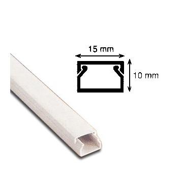 PAT CABLU DIN PVC 15mm x 10mm