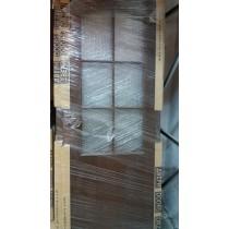 USA PORTA DOORS WENGE GRILA 2/3 - 80 CM - STANGA + TOC