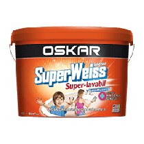 Superweiss superlavabil 15L