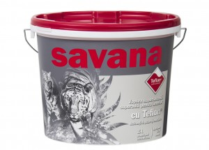 VOPSEA LAVABILA PENTRU INTERIOR - SAVANA CU TEFLON 8.5L
